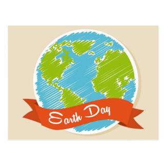 Celebre el Día de la Tierra - 22 de abril Tarjeta Postal