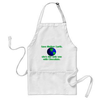 Celebre el Día de la Tierra Delantal