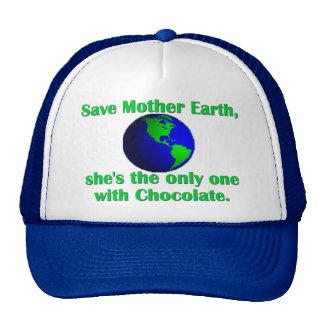 Celebre el Día de la Tierra Gorras