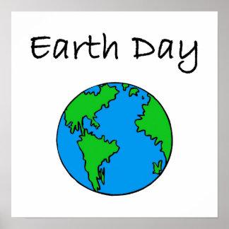 Celebre el Día de la Tierra Posters
