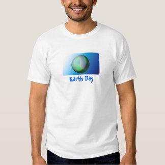 Celebre el Día de la Tierra Playeras