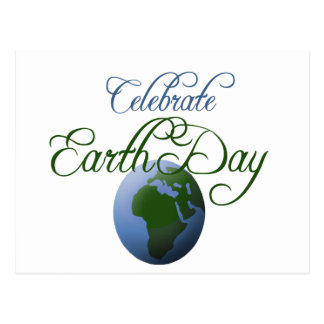 Celebre el Día de la Tierra Postal