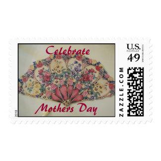 Celebre el día de madre timbre postal