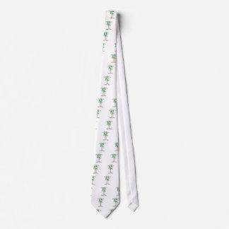 Celebre el día del árbol corbata