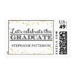 Celebre el franqueo graduado de la graduación del