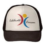Celebre el gorra de Carson