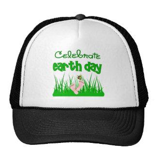 Celebre el gorra/el casquillo divertidos del Día d Gorras De Camionero