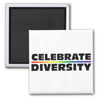 Celebre el imán de la diversidad