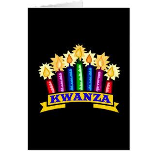 Celebre el KWANZA Tarjeta De Felicitación