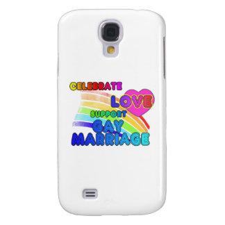 Celebre el matrimonio homosexual de la Amor-Ayuda Funda Para Galaxy S4