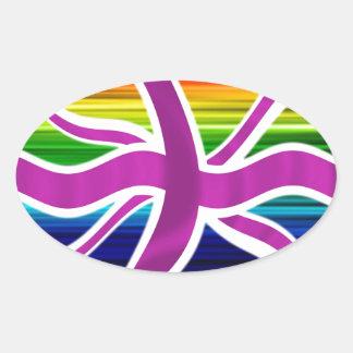¡Celebre el matrimonio homosexual legal en el Pegatina Ovalada