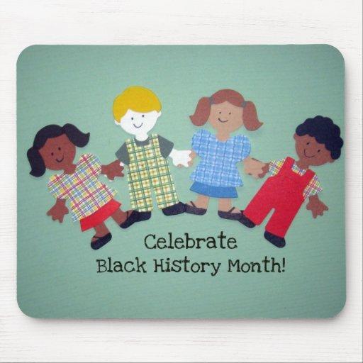¡Celebre el mes negro de la historia! #1 Tapetes De Ratones