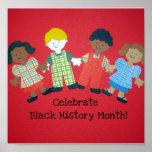 ¡Celebre el mes negro de la historia! Impresiones