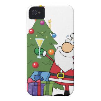 Celebre el navidad iPhone 4 fundas