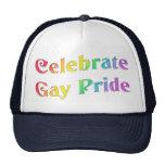 Celebre el orgullo gay gorras de camionero