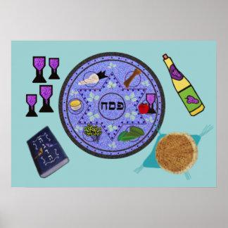 Celebre el Passover Poster