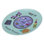 Celebre el Passover Platos