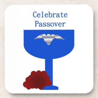 Celebre el Passover Posavasos De Bebidas