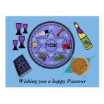 Celebre el Passover Tarjeta Postal