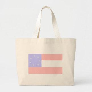 Celebre el patriotismo: 1783 y 1861 bolsa de tela grande