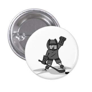Celebre el Pin del hockey Pin Redondo 2,5 Cm