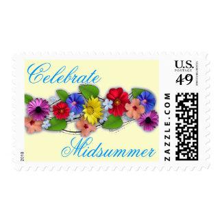 Celebre el pleno verano sello