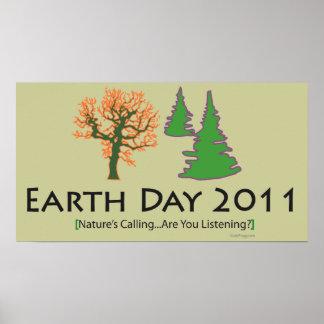 Celebre el poster 2011 del Día de la Tierra