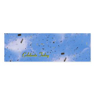 Celebre hoy (la señal) tarjetas de visita mini