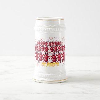 celebre jarra de cerveza