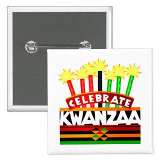 Celebre Kwanzaa Pin