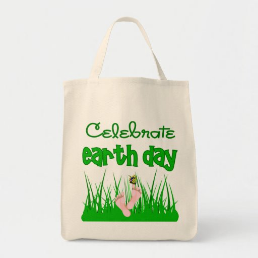Celebre la bolsa de asas orgánica del Día de la