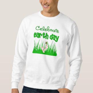 Celebre la camiseta divertida de la camiseta del sudadera con capucha