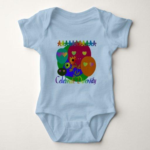 Celebre la diversidad body para bebé