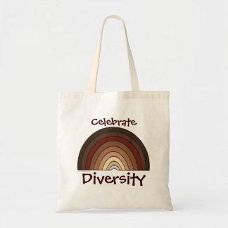 Celebre la diversidad bolsa tela barata