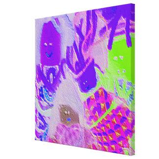 Celebre la diversidad - exclusión de la inclusión lienzo envuelto para galerías
