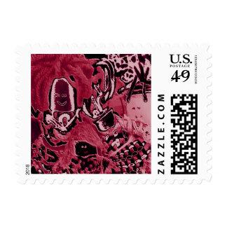 Celebre la diversidad - exclusión de la inclusión sello postal