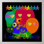 Celebre la diversidad poster