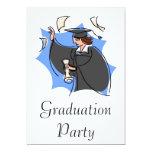 Celebre la graduación anuncios personalizados