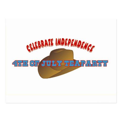 Celebre la independencia postal