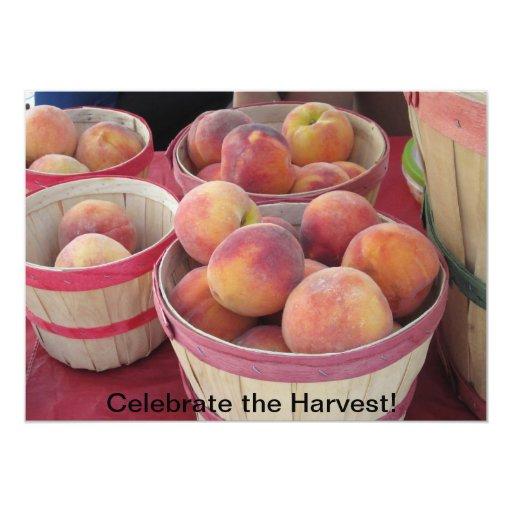 Celebre la invitación de la cosecha