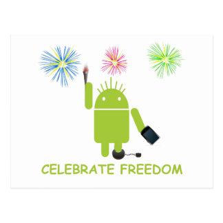 Celebre la libertad (el analista de programas info postales
