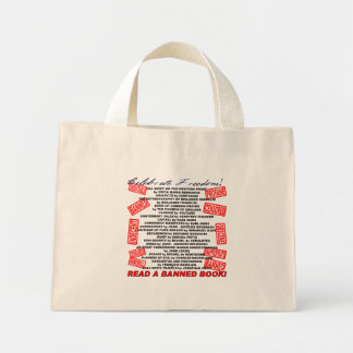 ¡Celebre la libertad!  ¡Lea un libro PROHIBIDO! (s Bolsa De Tela Pequeña