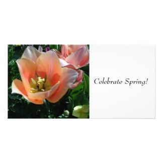¡Celebre la primavera! Tarjetas Con Fotos Personalizadas