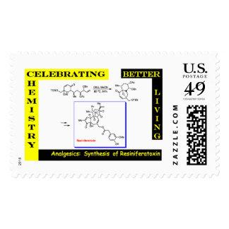 Celebre la química 3 sellos