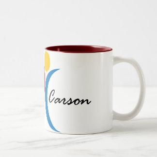 Celebre la taza de Carson