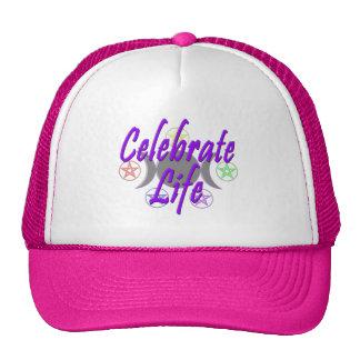 Celebre la vida gorra