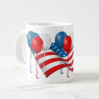 Celebre los E.E.U.U. Taza Grande