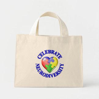 Celebre Neurodiversity Bolsa Tela Pequeña