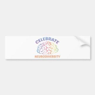 Celebre Neurodiversity Pegatina De Parachoque
