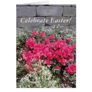 Celebre Pascua Tarjeta De Felicitación